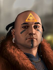 More Male Human Shadowrunner Portraits from Shadowrun Returns and Shadowrun: Dragonfall 1, 2 Humans Dwarves Elves Orks Trolls
