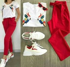 💗Terno Top and Pants💗 👚Free Size Fits S-Semi. Business Casual Outfits, Classy Outfits, Chic Outfits, Trendy Outfits, Girl Outfits, Summer Outfits, Fashion Outfits, Fashion Trends, Look Fashion