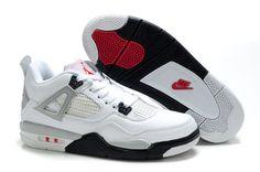 Chaussures Air jordan 4 Noir/ Gris/ Blanc - : Nike Chaussure Pas Cher,Nike Blazer and Timerland Jordan Shoes For Kids, Cheap Jordan Shoes, Air Jordan Iv, New Jordans Shoes, Michael Jordan Shoes, Kids Jordans, Air Jordan Shoes, Cheap Jordans, Jordan Sneakers