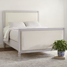 Dobson Upholstered Panel Bed