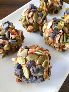 Pumpkin Energy Bites - My Montana Kitchen Low Carb Protein Bars, Healthy Protein Snacks, Protein Bites, Energy Bites, Keto Snacks, Healthy Eating, Clean Eating, Sugar Free Protein Bars, Protein Smoothies