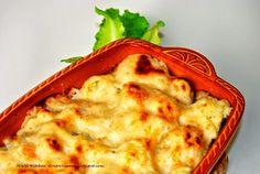 R'n'G Kitchen: Kalafior zapiekany pod beszamelem