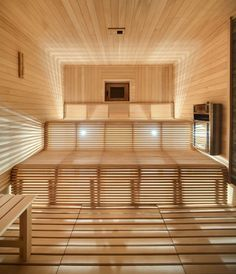 Sauna light patterns