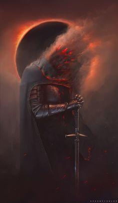 ArtStation - Dark Souls, Kevin Spoonfish Lee Broberg