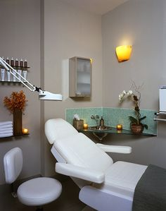 images of facial rooms | Facial room at Paul Labrecque Salon and Spa