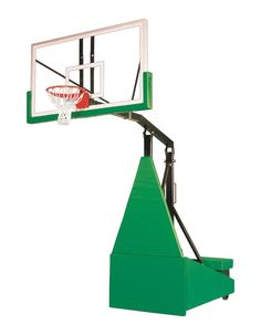 First Team Storm Arena Portable Adjustable Basketball Hoop 72 inch Tempered Glass from NJ Swingsets