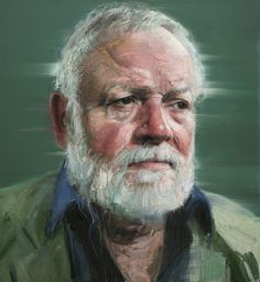 Portrait of Michael Longley by Colin Davidson