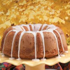 "Banana Pound Cake Recipe- Recipes ""I adapted a basic pound cake recipe from my great-aunt for this treat,"" says Nancy Zimmerman of Cape May Court House, New Jersey. ""It makes a moist cake that pops out of the pan perfectly."""