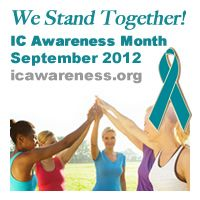 September is IC Awareness Month in the US. Go to http://healthaware.org/2012/08/25/september-2012-healthaware-monthly-events/ for link to more information.*