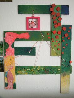 """""""Láska"""" rozměr 50x30cm, rok výroby 2010"""