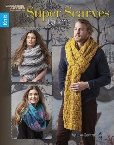 All the rage in fashion circles, super-sized scarves are the ultimate versatile accessory for women and men alike. Each of the six designs in Super Scarves to Knit from Leisure Arts is about 14 inches wide and 120 inches long, offering luxurious warmth an Crochet For Beginners Blanket, Crochet Blanket Patterns, Crochet Blankets, Knitting Books, Lace Knitting, Knitting Scarves, Knitting Needles, Knitting Designs, Knitting Patterns Free