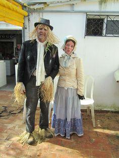 Wurzel Gummidge and Aunt Sally! (Portuguese Carnival.)