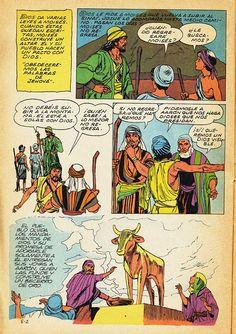 BIOGRAFIAS E COISAS .COM: A BIBLIA EL QUADRINHOS LEITURA ONLINE EM ESPANHOL-DE MOISES A JOSUE