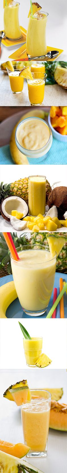 7 Awesome Healthy PINEAPPLE Smoothie Recipes