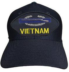VIETNAM VETERAN (CIB) Baseball Cap - Meach's Military Memorabilia & More