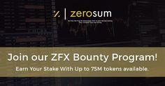 Join the ZeroSum Bounty Contest!