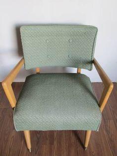 Mid Century Modern Atomic Arm Chair