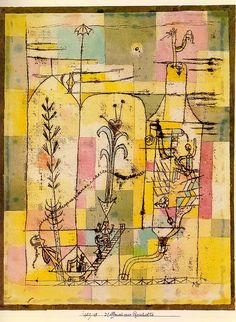 workman: german-expressionists: Paul Klee, Tale of Hoffmann,...