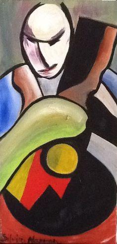Guitar by Silvia Marron.