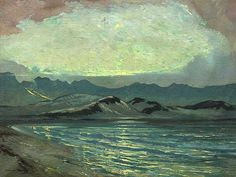 William M. Timlin (SA 1892 - 1943) Oil, Sunlit
