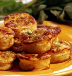 Photo de la recette : Bouchées aux poireaux et parmesan