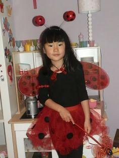 Disfraz de mariquita DIY