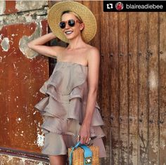 blaireadiebee wearing Silvia Tcherassi dress #resort2016