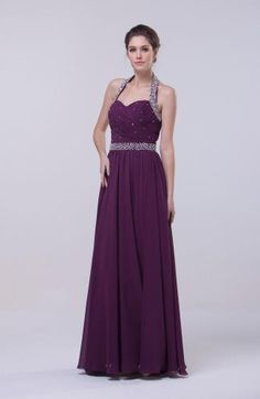Chiffon Halter Classic Prom Dresses - Order Link: http://www.theweddingdresses.com/chiffon-halter-classic-prom-dresses-twdn7834.html - Embellishments: Paillette , Ruching , Sequin; Length: Floor Length; Fabric: Chiffon; Waist: Natural - Price: 132.49USD