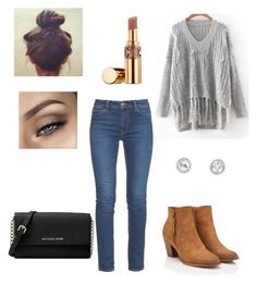 """""""Untitled #19"""" by elene-ioseliani on Polyvore featuring Burton, M.i.h Jeans, Michael Kors and Yves Saint Laurent"""