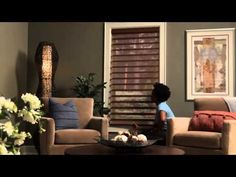 Silhouette® and Nantucket™ Window Shadings Operating Systems - Hunter Douglas Window Fashions - YouTube