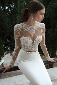 Hey future brides, here is another amazing bridal collection. It is Berta Bridal Winter a wonderful collection of long sleeve wedding dresses. Wedding Dress Sleeves, Long Sleeve Wedding, Dress Lace, White Dress, Lace Sleeves, Lace Bodice, Tulle Lace, Lace Dresses, Weeding Dress