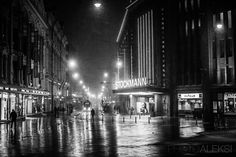 Night time in Helsinki - Aleksi Hämäläinen Helsinki, Finland, Times Square, Travel, Viajes, Destinations, Traveling, Trips