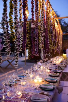 An amazing wedding party by the sea, organised and decorated by MELI Parties!