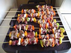 Sosaties - South African curry-marinated lamb and apricot kebabs