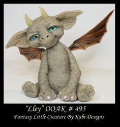 Fantasy Dragon Dollhouse Art Doll Polymer Clay CDHM OOAK Iadr Lley Miniature Fae | eBay