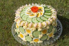 Sandwiches, Sandwich Cake, Norwegian Food, Scandinavian Food, Plant Based Recipes, Afternoon Tea, Avocado Toast, Tapas, Food And Drink