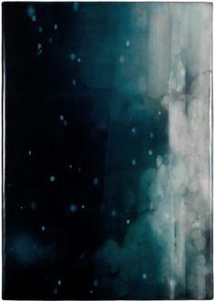 WOWGREAT - mydarkenedeyes: Eric Blum. Ink, beeswax  silk...