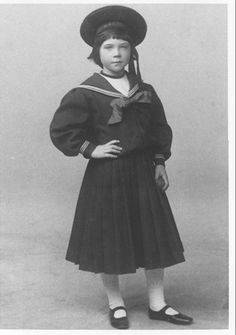 Dorothy Sayers - playwright, scholar, and creator of the beloved, must-read mystery series featuring Lord Peter Wimsey - is seen here in a rare studio portrait, circa 1899, at the age of six.