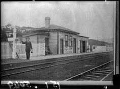 Waitakere Railway Station The first post office in the locality was named Waitakerei and opened at the railway station on 15 May The name changed to Waitekere from 11 Feb Source: I. Photo West Auckland Research Centre. Nz History, History Online, Local History, Library Research, Online Images, Auckland, Image Collection, New Zealand, The Neighbourhood
