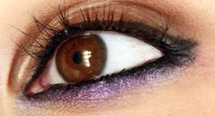 Must get brave enough to try this. (Lots of great eye makeup tutorials on this site)