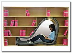 Book Shelf with built in reading area.
