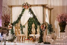 Pin by sadaf mir on wedding deco pinterest entrance decor new orleans la indian wedding by followell fotography junglespirit Images