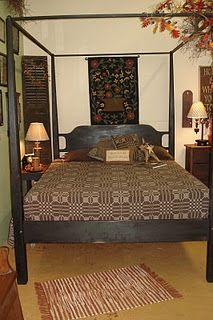 Solid wood furniture can be ordered at The Old Mercantile in Clarksville Tn---bedding can be Purchased and shipped us on Primitive Bedding, Primitive Furniture, Country Furniture, Wood Furniture, Cozy Bedroom, Bedroom Bed, Bedroom Decor, Bedroom Ideas, Dream Bedroom