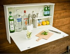 Outdoor Bar that could be a DIY