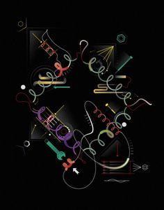 Commissioned by Pentagram / Illustrated by Leandro Castelao / Illustrations about DNA.