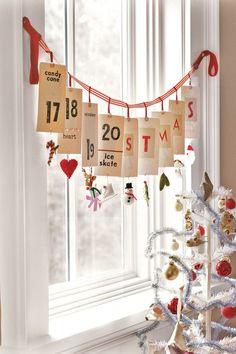 """Mais simples e artesanal do tipo """"made by myself"""", as decorações de Natal de estilo country são alegres, coloridas e cheias de detalhes..."""