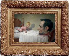 He is so creepy with his paintings. Right up my alley! (Mark Ryden)