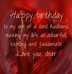 Happy Birthday Wishes For Husband _ Romantic Birthday Messages For Husband - My Wishes Club Sweet Happy Birthday Messages, 50th Birthday Messages, Romantic Birthday Messages, Late Happy Birthday Wishes, Happy Birthday Honey, Message To My Husband, Birthday Message For Husband, Wishes For Husband, Birthday Wish For Husband