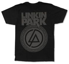 online retailer 1d23a c5cca Linkin Park Seal Logo Slim T- Shirt Available at Hottopic Some say that I m  to old to wear band T s Some should fuck off. Men s Clothing