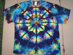 4X Tie Dye Stained Glass by tiedyetodd on Etsy
